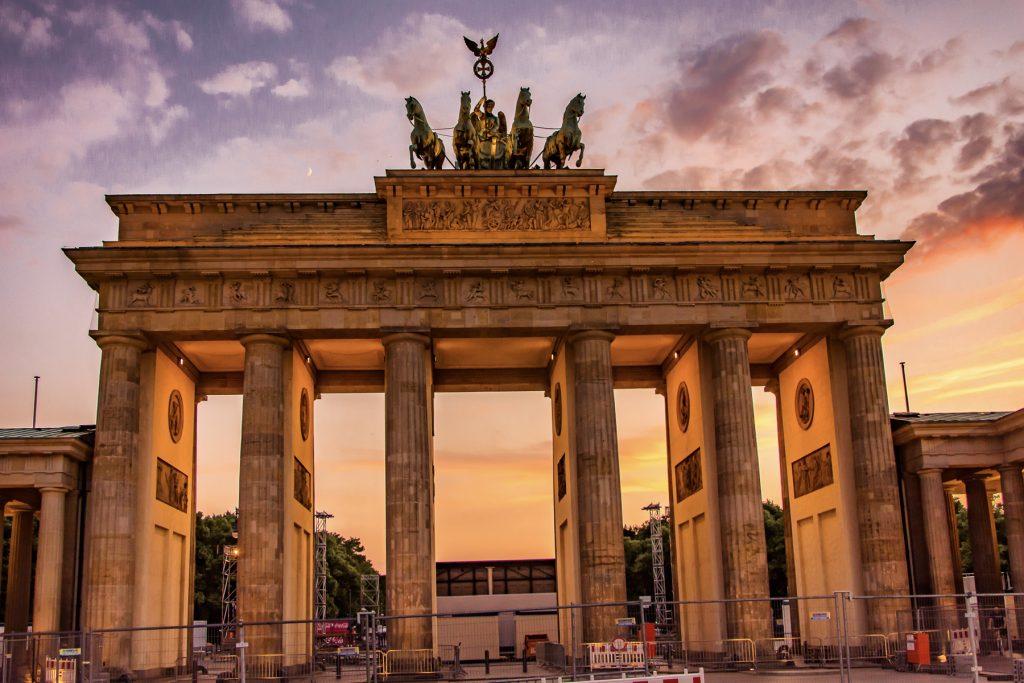 FOT©HAST Brandenburg toren, Berlijn, FotoHAST