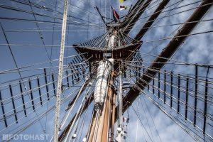 FOT©HAST Barque Sagres II SAIL Amsterdam 2015
