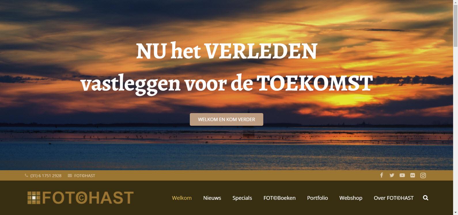 Nieuwe website LIVE
