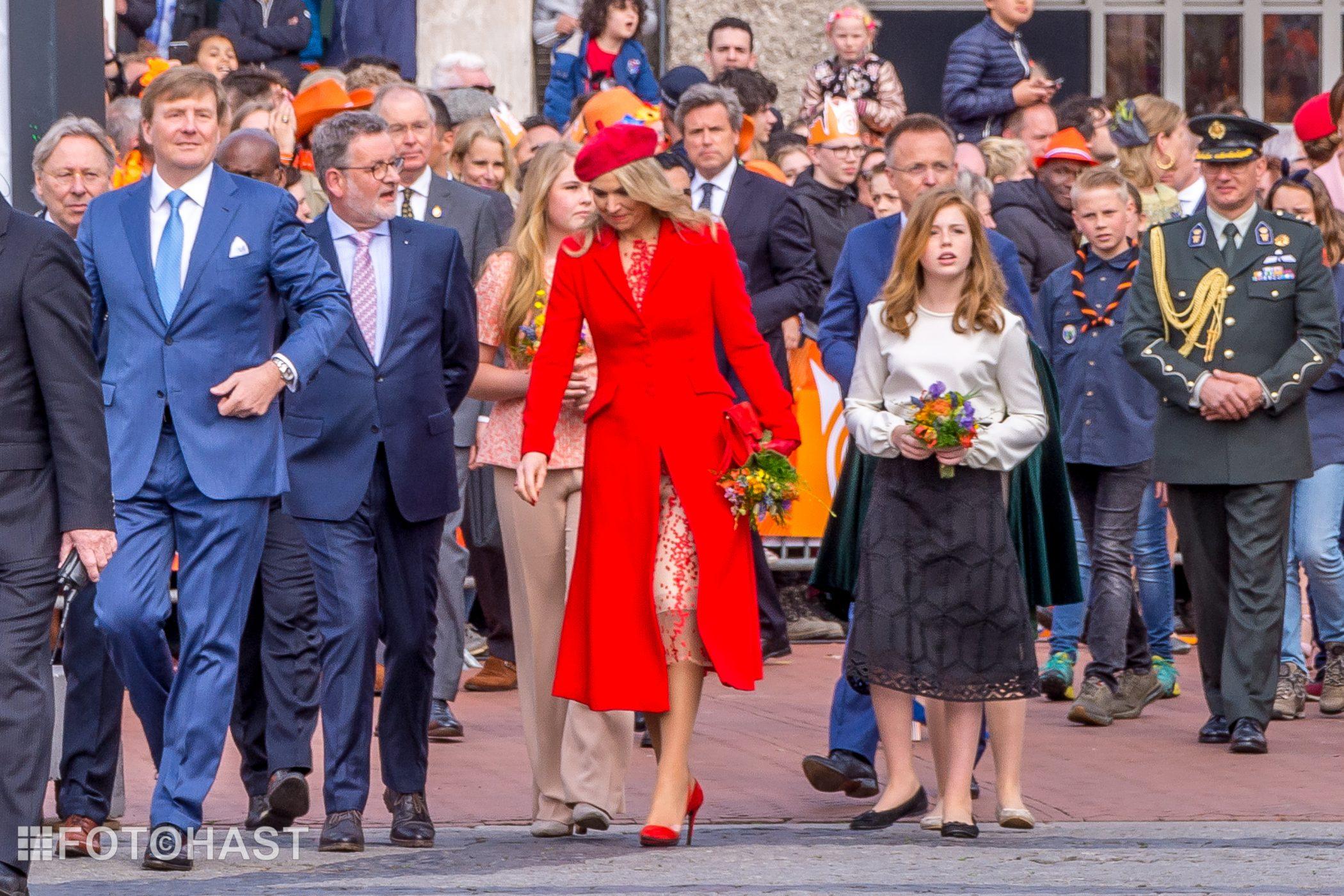Koningsdag in Groningen