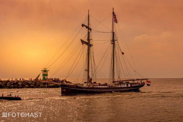 Wylde Swan keert weer terug in de haven