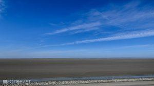 Het wad bij Texel
